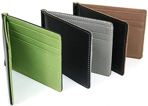 Best Front Pocket Wallet Under $100 on Amazon Dethler Men's Bifold Slim Minimalist Fuax Leathler Wallets
