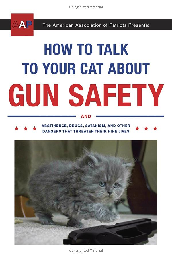 Top 13 Weird Things to Buy on Amazon How to talk to your cat about gun safety