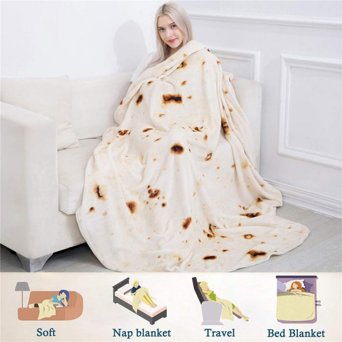 Top 13 Weird Things to Buy on Amazon burrito tortilla blanket