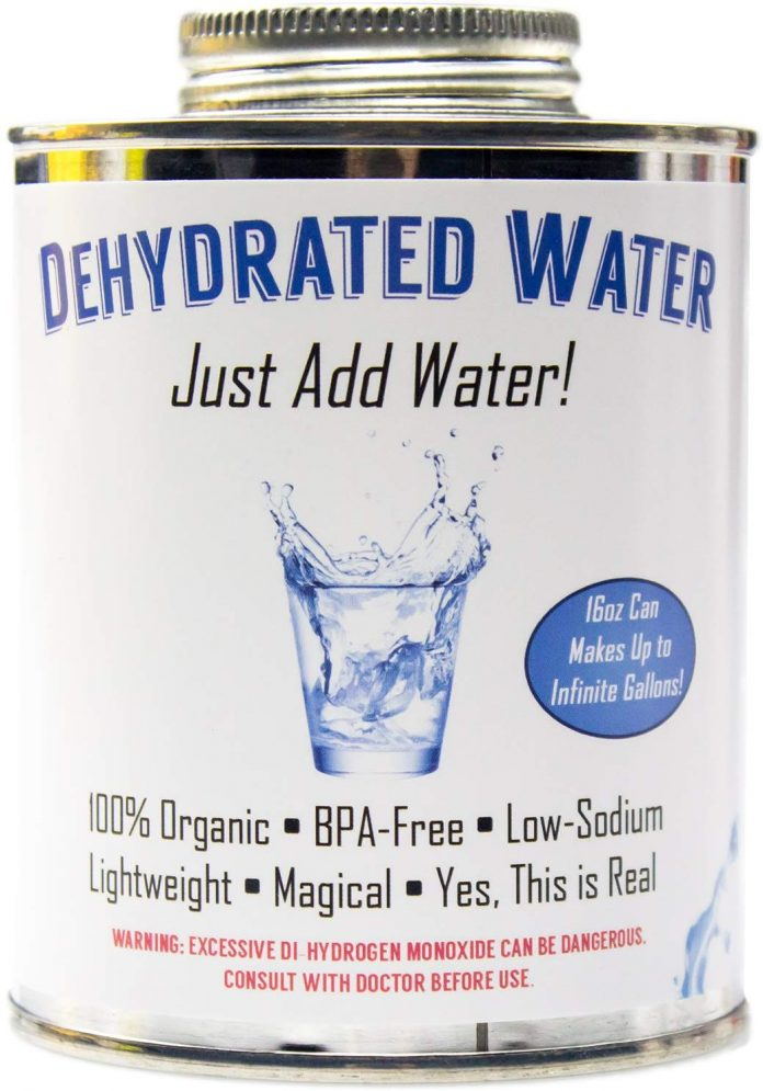 Top 13 Weird Things to Buy on Amazon dehydrated water