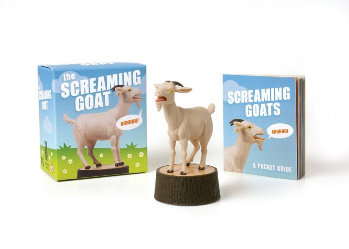 Top 13 Weird Things to Buy on Amazon the screaming goat